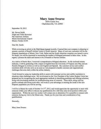 Cover Letters Resumes Customer Service