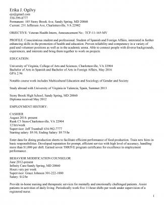 Resume_Federal_Erika_Ogilvy Va Federal Government Resume Format on federal resume writing samples, federal government job, federal government example, federal government employees, federal government salary, federal resume format template, government job resume format, federal govt resume, federal government education, federal government clip art, federal government system, federal employee resume example, federal government qualifications, federal government agencies, federal government banking, federal job resume sample, local government resume format, federal government benefits, government contract resume format, federal resume samples and templates,