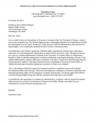College Grad Cover Letter Samples from career.virginia.edu